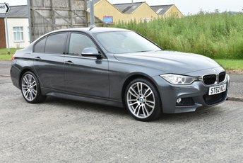 2012 BMW 3 SERIES 2.0 320I XDRIVE M SPORT 4d AUTO 181 BHP £13990.00