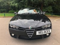 USED 2008 08 ALFA ROMEO SPIDER 2.2 JTS LIMITED EDITION 2d 185 BHP PREVIOUSLY SUPPLIED & MAINTAINED BY OURSELVES