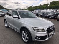 USED 2013 13 AUDI Q5 2.0 TDI QUATTRO S LINE PLUS 5d 141 BHP PLUS Model with high specification & low miles
