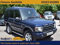 USED 2002 52 LAND ROVER DISCOVERY 2.5 TD5 GS 7STR 5d AUTO 136 BHP