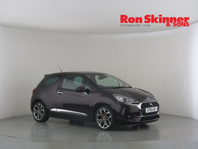 View our 2016 16 DS DS 3 1.6 BLUEHDI ULTRA PRESTIGE S/S 3d 118 BHP