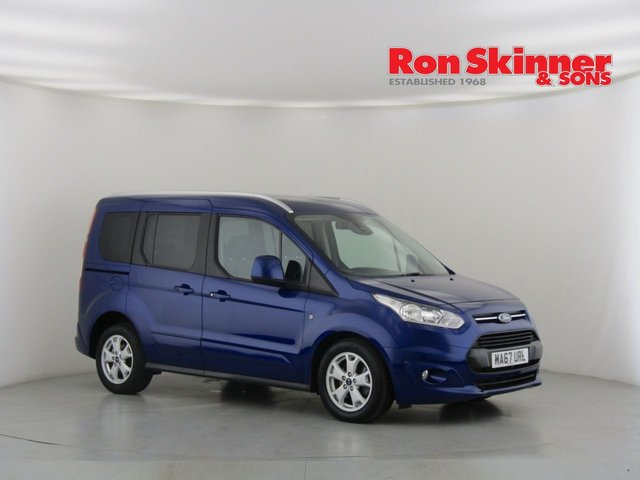 View our 2017 67 FORD TOURNEO CONNECT 1.5 TITANIUM TDCI 5d 118 BHP