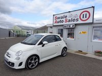 USED 2014 14 ABARTH 500 1.4 ABARTH 3 DOOR 135 BHP £39 PER WEEK, NO DEPOSIT - SEE FINANCE LINK