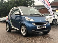 USED 2009 59 SMART FORTWO 0.8 PASSION CDI 2d AUTO 54 BHP NAVIGATION SYSTEM *  PAN ROOF *  1 PREVIOUS KEEPER *  FULL YEAR MOT *  ALLOY WHEELS *