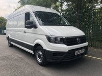 USED 2018 18 VOLKSWAGEN CRAFTER 2.0 CR35 TDI L H/R P/V STARTLINE 1d 138 BHP All Vehicles with minimum 6 months Warranty, Van Ninja Health Check and cannot be beaten on price!