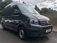 USED 2018 18 VOLKSWAGEN CRAFTER 2.0 CR35 TDI M H/R P/V TRENDLINE 1d 138 BHP All Vehicles with minimum 6 months Warranty, Van Ninja Health Check and cannot be beaten on price!