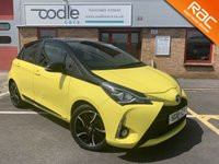 USED 2018 18 TOYOTA YARIS 1.5 VVT-I YELLOW EDITION 5d 110 BHP