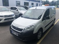 USED 2017 67 PEUGEOT PARTNER 1.6 BLUE HDI PROFESSIONAL L1 1d 100 BHP All Vehicles with minimum 6 months Warranty, Van Ninja Health Check and cannot be beaten on price!