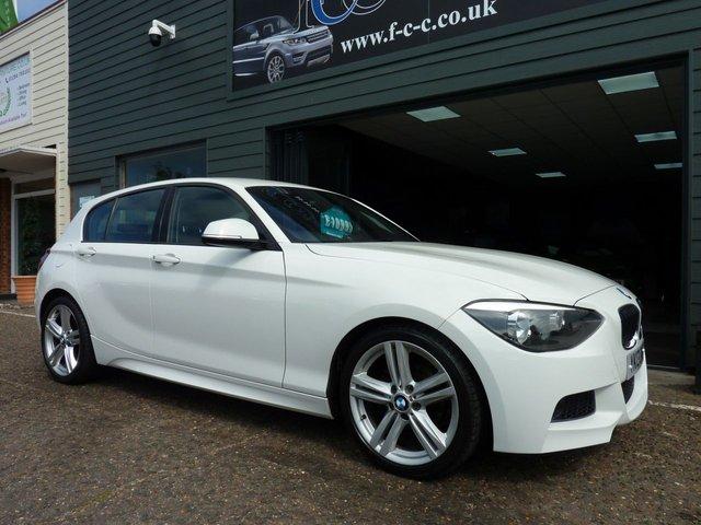 2013 13 BMW 1 SERIES 2.0 118D M SPORT 5d AUTO 141 BHP