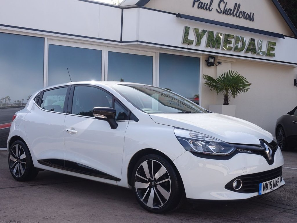 USED 2015 15 RENAULT CLIO 1.5 DYNAMIQUE S MEDIANAV ENERGY DCI S/S 5d 90 BHP
