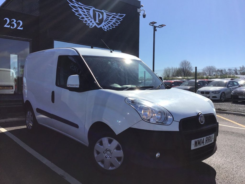 USED 2014 14 FIAT DOBLO 1.2 16V SX MULTIJET 1d 90 BHP MOT AND SERVICE AND WARRANTY INCLUDED
