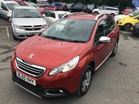 USED 2015 65 PEUGEOT 2008 1.6 E-HDI ALLURE FAP 5d AUTO 92 BHP ION METALLIC RED WITH FULL SERVICE HISTORY AND ONLY 47000 MILES. APPROVED CARS AND FINANCE ARE PLEASED TO OFFER THIS PEUGEOT 2008 1.6 E-HDI ALLURE FAP 5D AUTO 92 BHP WITH 47000 MILES AND A FULL SERVICE HISTORY AT 16K, 32K, 48K, THIS VEHICLE HAS A VERY GOOD SPEC SUCH AS BLUETOOTH, TOUCHSCREEN DISPLAY, AIR CON, ELECTRIC WINDOWS AND MUCH MORE. THIS IS AN IDEAL FAMILY CAR AND IS VERY ECONOMICAL AS WELL AS HAVING CHEAP ROAD AND INSURANCE