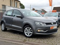 USED 2015 15 VOLKSWAGEN POLO 1.0 SE 5d 60 BHP AS ALWAYS ALL CARS FROM EDINBURGH CAR STORE COME WITH 1 YEARS FULL MOT ,1 FULL RAC INSPECTION SERVICE AND 6 MONTH RAC WARRANTY INCLUDING  12 MONTHS RAC BREAKDOWN RECOVERY FREE OF CHARGE!      PLEASE CALL IF YOU DONT SEE WHAT YOUR LOOKING FOR AND WE WILL CHECK OUR OTHER BRANCHES.  WE HAVE  OVER 100 CARS IN DEALER STOCK