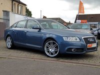 USED 2010 60 AUDI A6 2.0 TDI S LINE SPECIAL EDITION 4d 168 BHP AS ALWAYS ALL CARS FROM EDINBURGH CAR STORE COME WITH 1 YEARS FULL MOT ,1 FULL RAC INSPECTION SERVICE AND 6 MONTH RAC WARRANTY INCLUDING  12 MONTHS RAC BREAKDOWN RECOVERY FREE OF CHARGE!      PLEASE CALL IF YOU DONT SEE WHAT YOUR LOOKING FOR AND WE WILL CHECK OUR OTHER BRANCHES.  WE HAVE  OVER 100 CARS IN DEALER STOCK