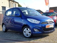 USED 2011 61 HYUNDAI I10 1.2 ACTIVE 5d 85 BHP AS ALWAYS ALL CARS FROM EDINBURGH CAR STORE COME WITH 1 YEARS FULL MOT ,1 FULL RAC INSPECTION SERVICE AND 6 MONTH RAC WARRANTY INCLUDING  12 MONTHS RAC BREAKDOWN RECOVERY FREE OF CHARGE!      PLEASE CALL IF YOU DONT SEE WHAT YOUR LOOKING FOR AND WE WILL CHECK OUR OTHER BRANCHES.  WE HAVE  OVER 100 CARS IN DEALER STOCK