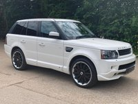 2010 LAND ROVER RANGE ROVER SPORT 3.0 TDV6 HSE 5d AUTO 245 BHP OVERFINCH (Facelift Model) £16495.00