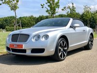 USED 2007 07 BENTLEY CONTINENTAL 6.0 GTC AUTO 550 BHP 2DR CONVERTIBLE +2 OWNER+14 STAMPS+GREAT SPEC+