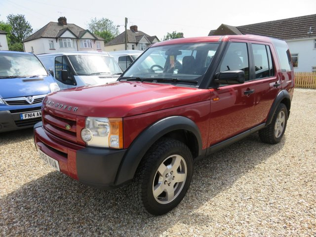 2008 08 LAND ROVER DISCOVERY 2.7 3 TDV6 GS 5d AUTO 188 BHP