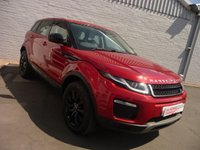 2015 LAND ROVER RANGE ROVER EVOQUE 2.0 ED4 SE TECH, STEALTH PACK £18495.00