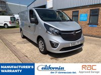 USED 2016 66 VAUXHALL VIVARO 1.6 (EURO 6) 2900 L1H1 CDTI P/V SPORTIVE 1d 115 BHP 1 OWNER - 12 MONTH COMPLIMENTARY BREAKDOWN COVER - EURO 6 ULEZ COMPLIANT