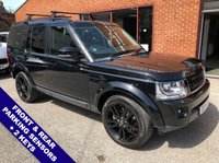 "USED 2014 14 LAND ROVER DISCOVERY 3.0 SDV6 XS 5DOOR AUTO 255 BHP Family 7-Seater   :   DAB   :   Sat Nav   :   USB & AUX Socket   :   Heated Windscreen      Auto Headlights : Cruise Control / Speed Limiter   :   Bluetooth   :   Heated Front Seats       Rear View Camera   :   Front & Rear Parking Sensors   :   20"" Alloy Wheels   :   2 Keys      Service History"