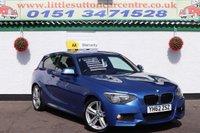 2012 BMW 1 SERIES 2.0 118D M SPORT 3d 141 BHP £8300.00