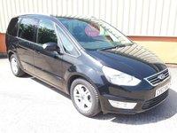 2012 FORD GALAXY 2.0 ZETEC TDCI 5d AUTO 138 BHP £SOLD