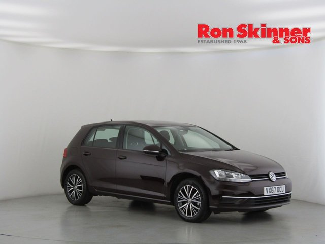 View our 2017 67 VOLKSWAGEN GOLF 1.0 SE NAVIGATION TSI BLUEMOTION TECHNOLOGY 5d 109 BHP