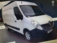 USED 2015 65 RENAULT MASTER 2.3 MM35 BUSINESS PLUS DCI S/R P/V  125 BHP