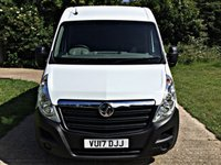 USED 2017 17 VAUXHALL MOVANO 2.3 L3H2 F3500 P/V 1d 129 BHP EURO 6, HIGH SPEC,