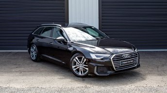 2019 AUDI A6 S LINE 40 TDI 204 BHP AVANT, TECH PACK, FLAT BOTTOM STEERING WHEEL & SPARE WHEEL £10,000 SAVING OVER NEW   £35995.00