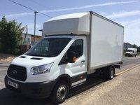 2015 FORD TRANSIT LUTON 350 LWB L4 DRW 125ps TAIL LIFT £11495.00