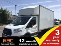 USED 2015 15 FORD TRANSIT LUTON 350 L4 DRW 125ps TAIL LIFT