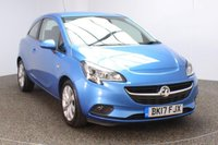 USED 2017 17 VAUXHALL CORSA 1.4 ENERGY AC 3DR HEATED SEATS BLUETOOTH 1 OWNER 89 BHP AUTO  FULL SERVICE HISTORY + HEATED SEATS + HEATED STEERING WHEEL + BLUETOOTH + CRUISE CONTROL + MULTI FUNCTION WHEEL + AIR CONDITIONING + DAB RADIO + ELECTRIC WINDOWS + RADIO/USB + ELECTRIC MIRRORS + 16 INCH ALLOY WHEELS