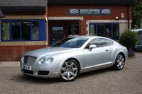 USED 2004 BENTLEY CONTINENTAL 6.0 GT 2d 550 BHP Full Service History! Fantastic Condition Throughout! Genuine Low Mileage!