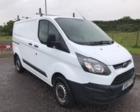 USED 2015 15 FORD TRANSIT CUSTOM 2.2 270 LR NO VAT VAN 99 BHP 6 MONTHS PARTS+ LABOUR WARRANTY+AA COVER