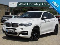 USED 2016 A BMW X6 3.0 M50D 4d AUTO 376 BHP Showroom Car + 1 Local Owner From New