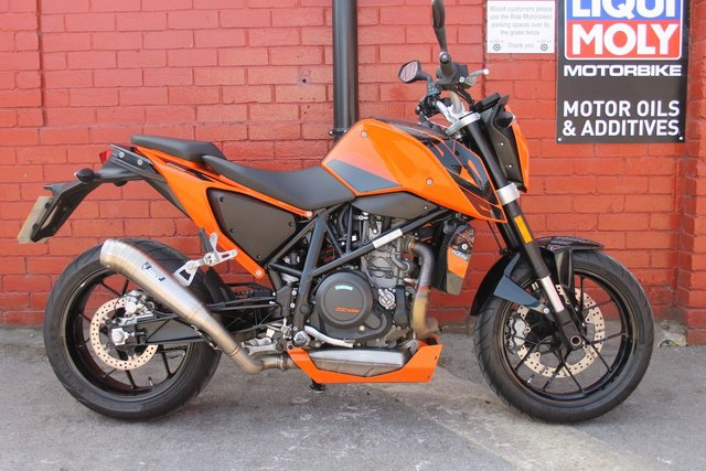 USED 2016 66 KTM 690 DUKE 16 *12mth Mot, 3mth Warranty, Mivv Exhaust, Really Clean* A Sweet Low Mileage 690 Duke, Sounds Awesome. Delivery Available.