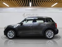 USED 2011 11 MINI COUNTRYMAN 2.0 COOPER D ALL4 5d AUTO 110 BHP CHILLI PACK | MEDIA PACK | LEATHERS - CARBON BLACK