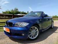 USED 2010 10 BMW 1 SERIES 2.0 118I M SPORT 2d 141 BHP M SPORT PACK FULL HISTORY CARBON BLACK TRIM MULTIFUNCTION STEERING WHEEL