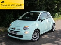 2016 FIAT 500 1.2 POP STAR DUALOGIC 3d AUTO 69 BHP £8495.00