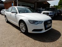 USED 2012 62 AUDI A6 3.0 TDI QUATTRO SE 4d AUTO 245 BHP SAT NAV,LEATHER,AIR CON,CRUISE CONTROL,BLUETOOTH,XENONS