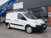 USED 2014 14 TOYOTA PROACE 1.6 L1H1 HDI 1200 P/V 1d 89 BHP NO VAT, AIR CONDITIONING, BLUETOOTH, REAR PLY LINING KIT FITTED, TWIN SLIDING DOORS