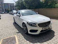 USED 2016 66 MERCEDES-BENZ C CLASS 2.1 C 220 D AMG LINE 2d AUTO 168 BHP ULEZ Free, HIGH SPEC, Leathers, Xenon, NEW MOT, Warranty