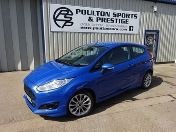 2012 FORD FIESTA ZETEC S 1.0 ECOBOOST + FULL LEATHER + HEAT SEATS + BLUETOOTH + FSH £5995.00