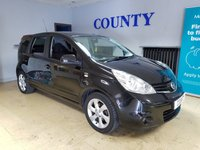 USED 2010 10 NISSAN NOTE 1.5 N-TEC DCI 5d 86 BHP * PART X TO CLEAR * 12 MONTHS MOT *