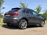USED 2017 17 AUDI Q3 2.0 TDI QUATTRO BLACK EDITION AUTO 182 BHP 5DR ESTATE +BLACK PACK+BOSE+ALCANTARA