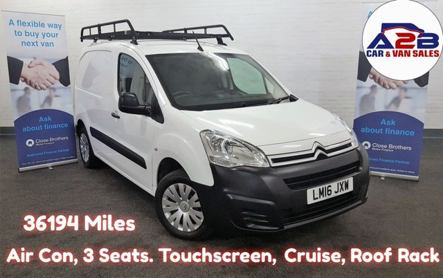 2016 Citroen Berlingo 625 Enterprise L1 HDI £6,980