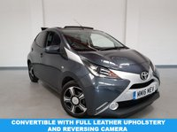 USED 2016 16 TOYOTA AYGO 1.0 VVT-I X-CLUSIV 2, 5 DOOR CONVERTIBLE, 69 BHP