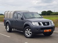 USED 2011 61 NISSAN NAVARA 2.5 DCI ACENTA 4X4 KCB 1d 188 BHP KING CAB + PSH + PLUS VAT + P/X WELCOME + 6 MONTH WARRANTY + FINANCE AVAILABLE